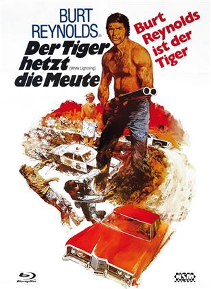 Der Tiger hetzt die Meute (1973) (Cover B, Limited Edition, Mediabook, Blu-ray + DVD)