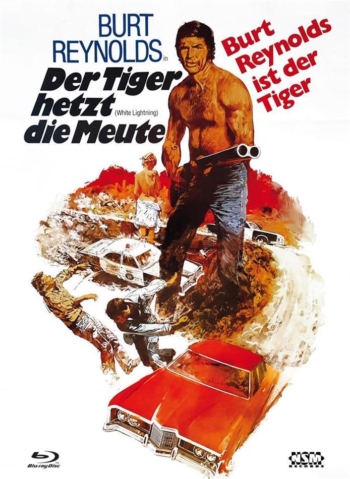 Der Tiger hetzt die Meute (1973) (Cover B, Limited Edition, Mediabook, Blu-ray + DVD)
