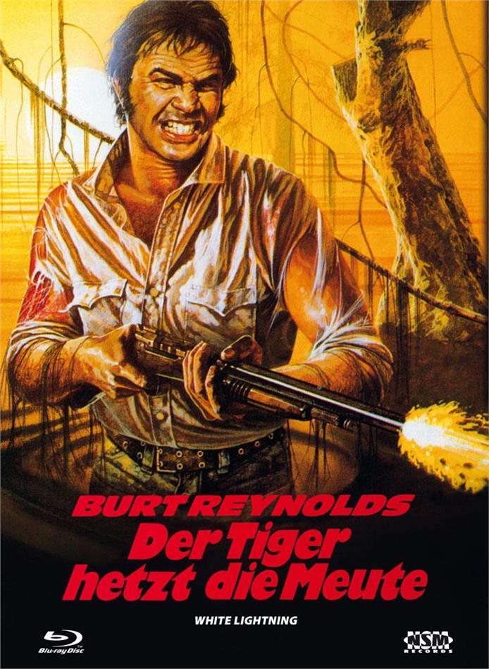 Der Tiger hetzt die Meute (1973) (Cover C, Limited Edition, Mediabook, Blu-ray + DVD)