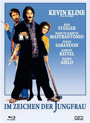 Im Zeichen der Jungfrau (1989) (Cover C, Limited Edition, Mediabook, Blu-ray + DVD)