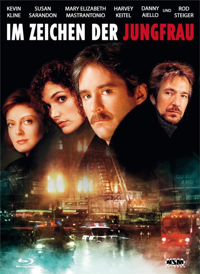 Im Zeichen der Jungfrau (1989) (Cover E, Limited Edition, Mediabook, Blu-ray + DVD)