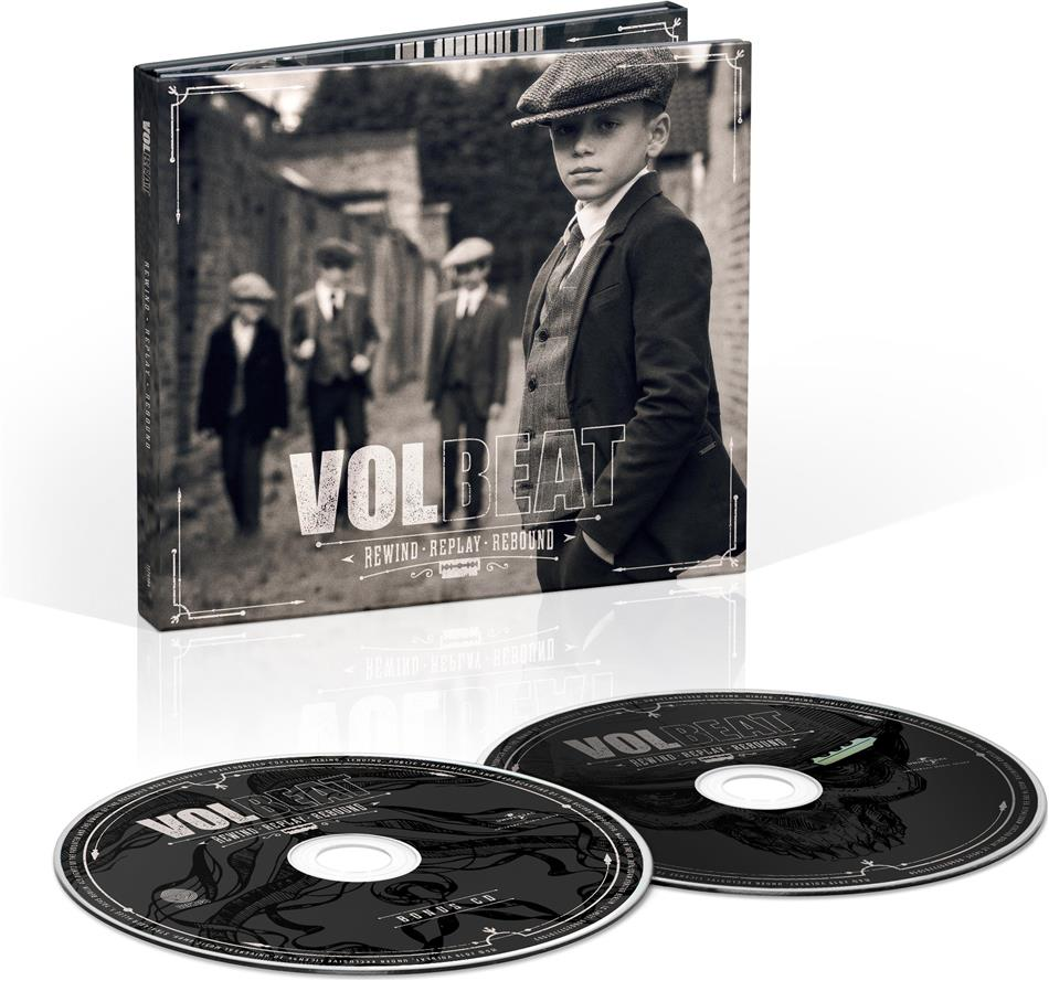 Volbeat - Rewind, Replay, Rebound (Digipack, Deluxe Edition, 2 CDs)