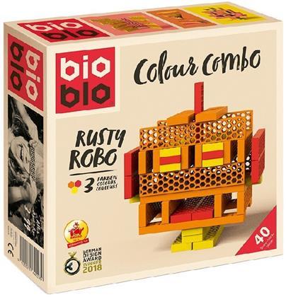 Bioblo - Colour Combo Rusty Robot, 40 Steine