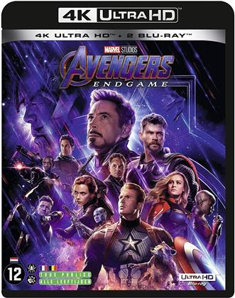 Avengers 4 - Endgame (2019) (4K Ultra HD + 2 Blu-ray)