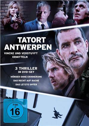 Tatort Antwerpen - Vincke und Verstuyft ermitteln - Mörder ohne Erinnerung / Das Recht auf Rache / Das letzte Opfer (3 DVDs)