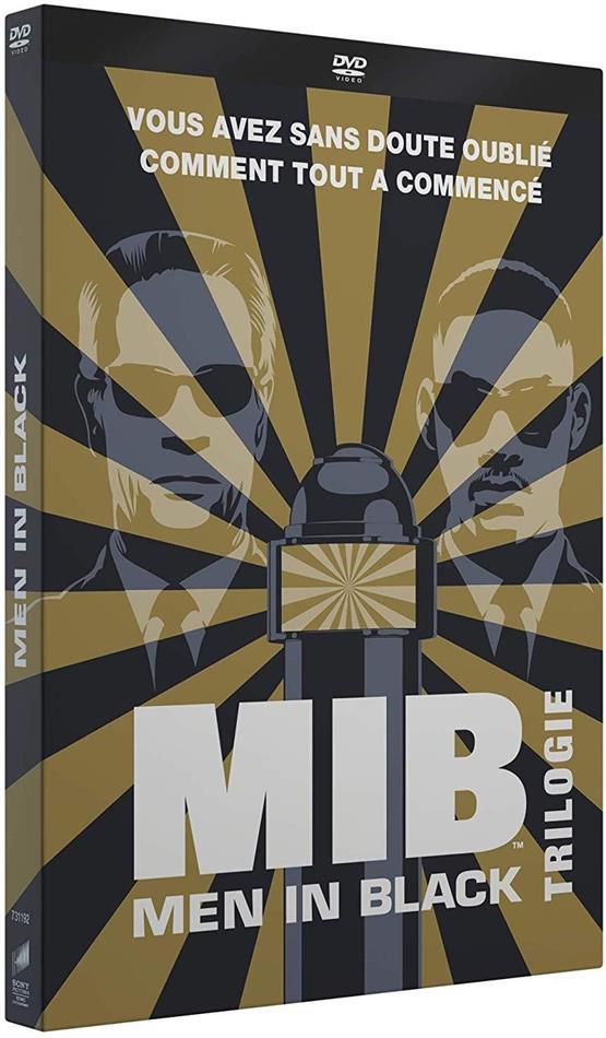 Men in Black 1-3 - Trilogie + Cartes postales + Porte-clés (3 DVD)