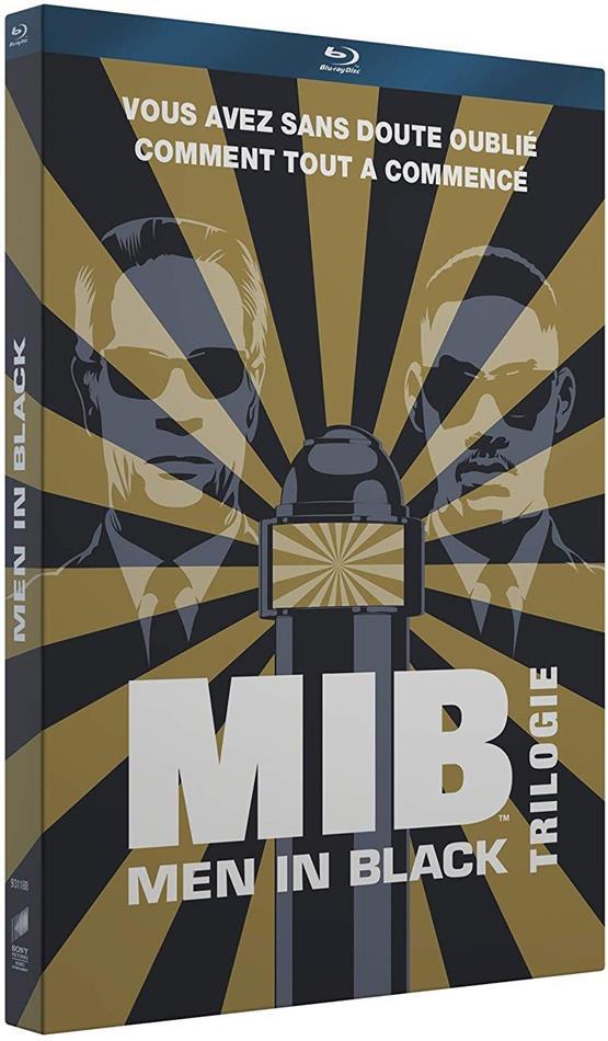 Men in Black 1-3 - Trilogie + Cartes postales + Porte-clés (3 Blu-ray)