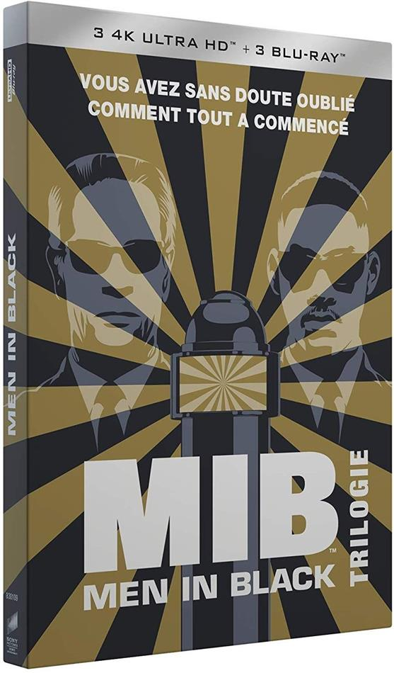 Men in Black 1-3 - Trilogie + Cartes postales + Porte-clés (3 4K Ultra HDs + 3 Blu-ray)