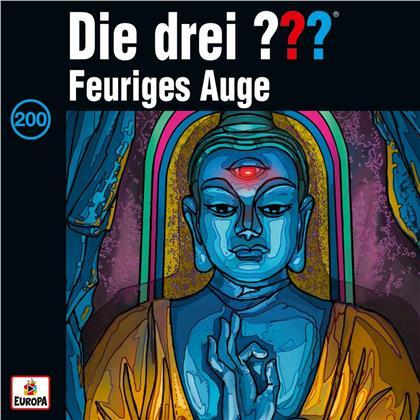 Die Drei ??? - 200/Feuriges Auge (Deluxe Edition, 4 CDs)