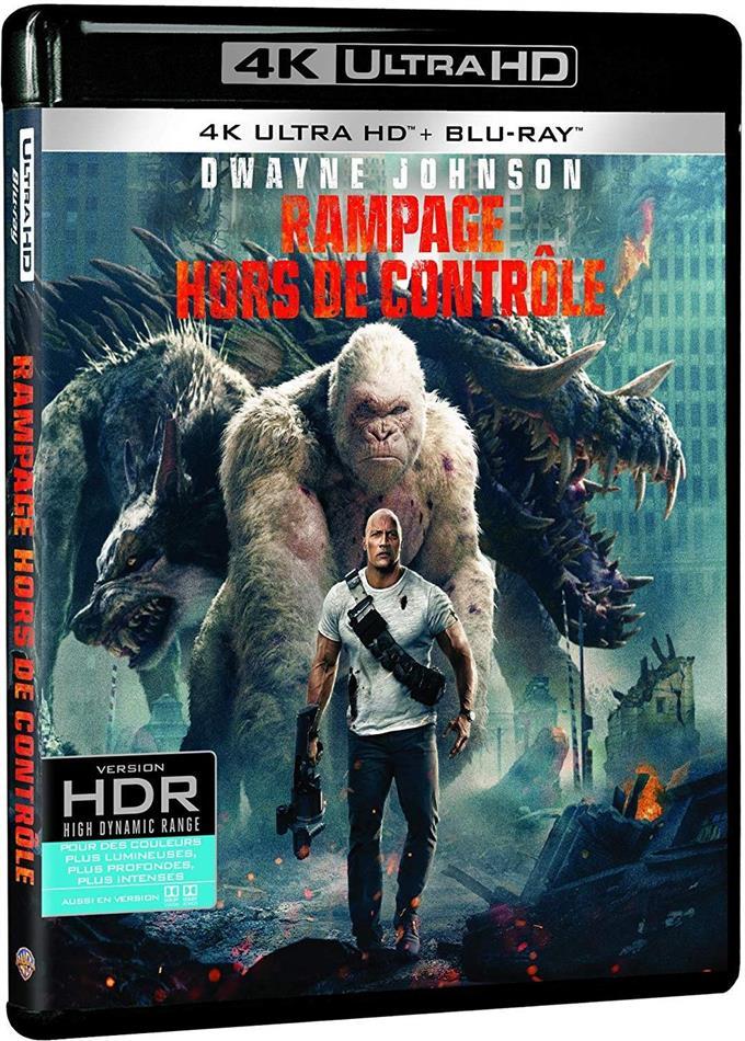 Rampage - Hors de contrôle (2018) (4K Ultra HD + Blu-ray)