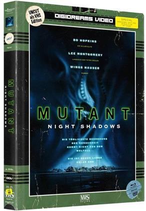 Mutant - Night Shadows (1984) (VHS-Edition, Limited Edition, Mediabook, 2 Blu-rays + 2 DVDs)