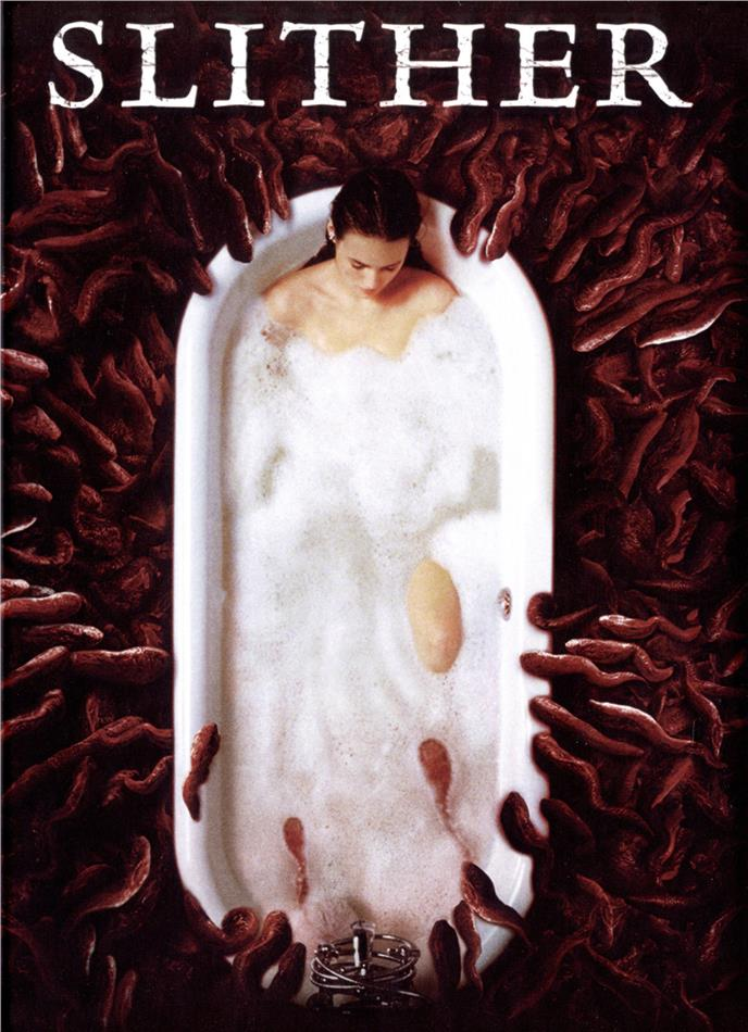 Slither (2006) (Cover B, Limited Edition, Mediabook, Blu-ray + CD)
