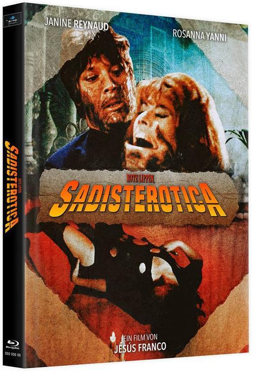 Rote Lippen, Sadisterotica (1969) (Cover E, Limited Edition, Mediabook, 2 Blu-rays)
