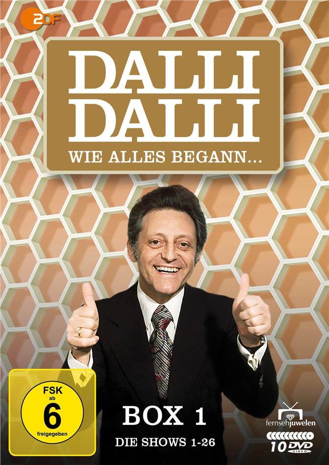 Dalli Dalli - Box 1: Wie alles begann (Fernsehjuwelen, 10 DVDs)