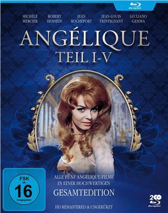 Angélique 1-5 (Filmjuwelen, Remastered, 2 Blu-rays)