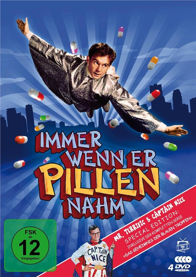 Immer wenn er Pillen nahm / Das Geheimnis der blauen Tropfen - Die komplette Serie (Fernsehjuwelen, Special Edition, 4 DVDs)