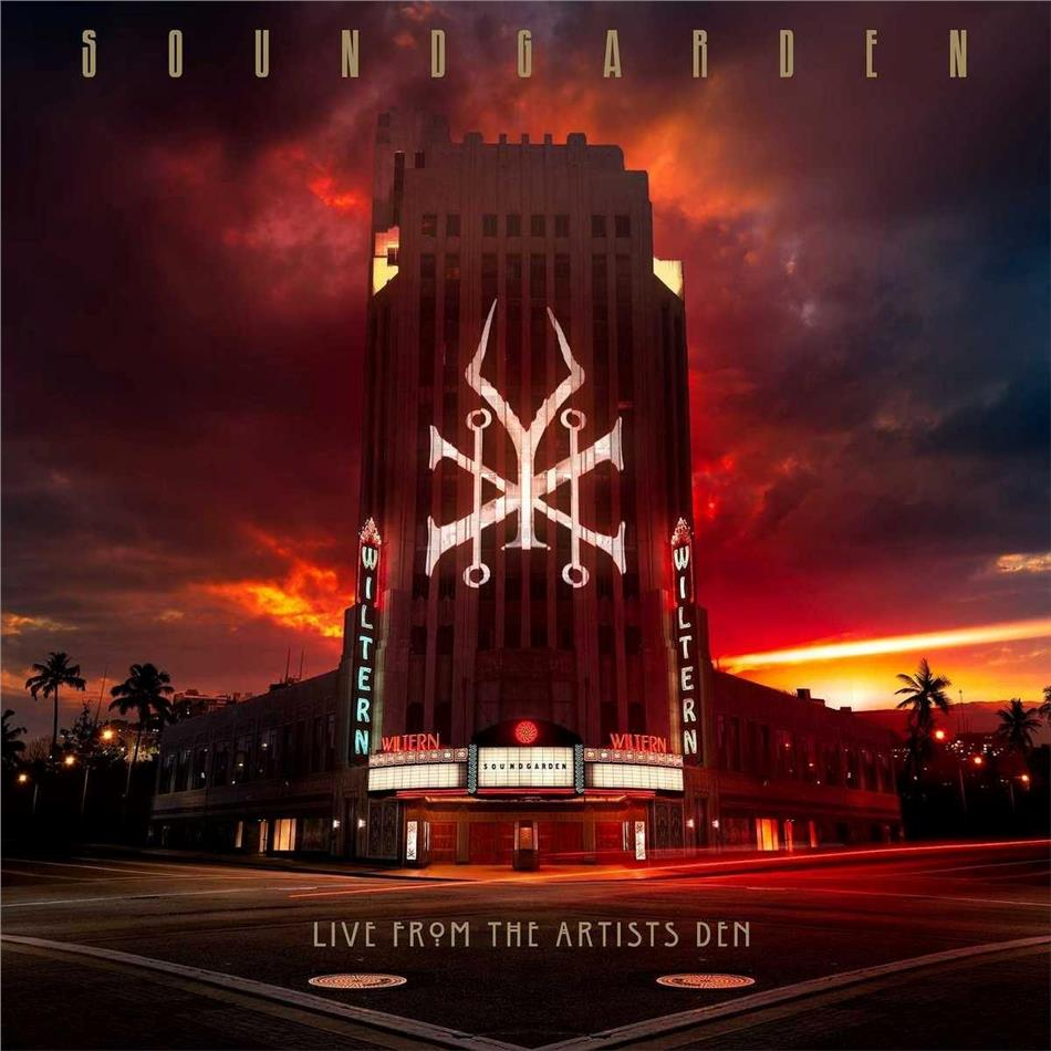Soundgarden - Live From The Artists Den (Digipack, 2 CDs)