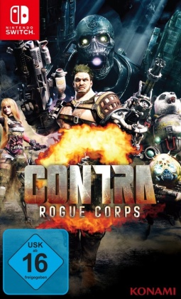 Contra: Rogue Corps (German Edition)