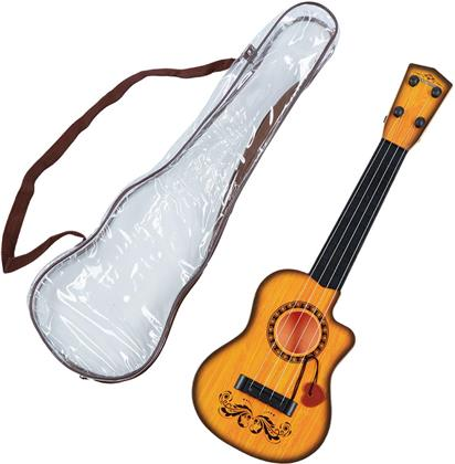 Mini Gitarre 42 cm - mit Schutzhülle