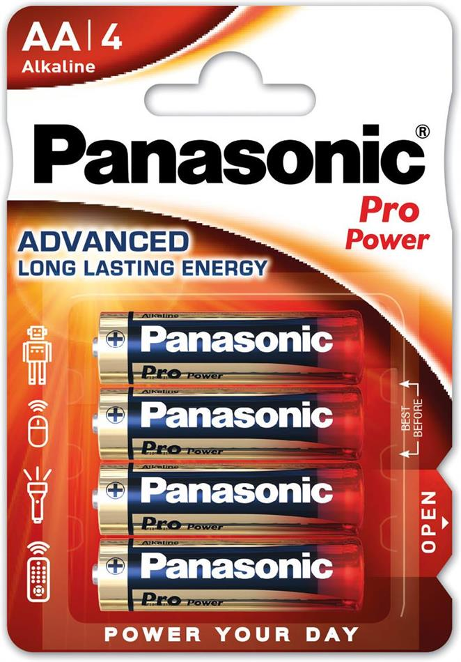 Panasonic Pro Power 4x LR6 (AA)