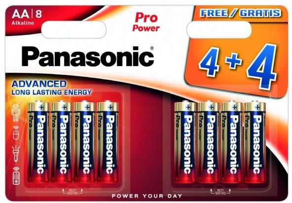 Panasonic Pro Power 8x LR6 (AA)