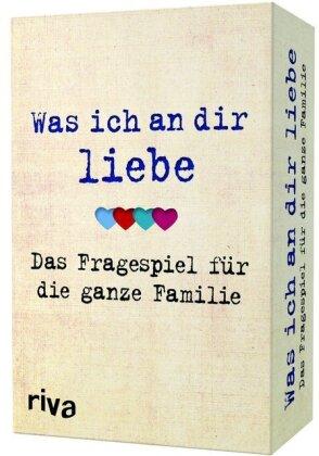 Was ich an dir liebe – Das Fragespiel für die ganze Familie