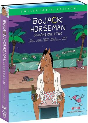 Bojack Horseman - Seasons 1+2 (Collector's Edition, 4 Blu-ray)