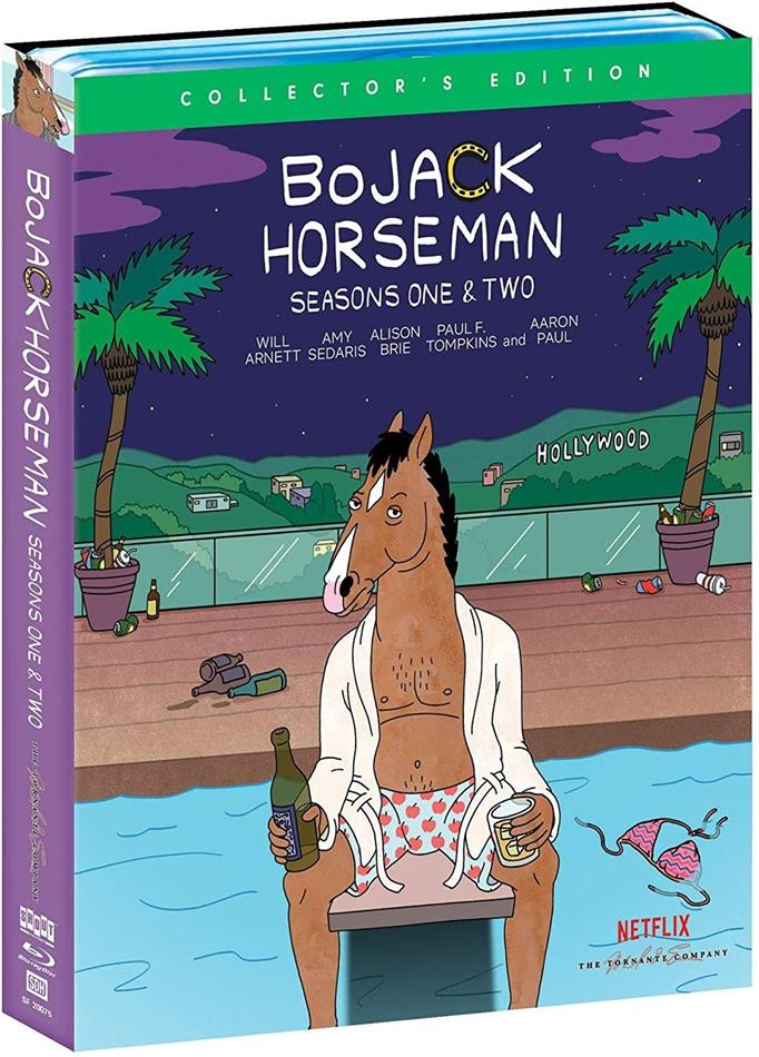 Bojack Horseman - Seasons 1+2 (Collector's Edition, 4 Blu-rays)