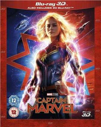 Captain Marvel (2019) (Blu-ray 3D + Blu-ray)