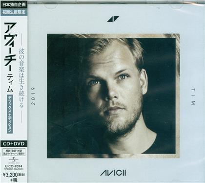 AVICII - TIM (Japan Edition, Deluxe Edition, CD + DVD)