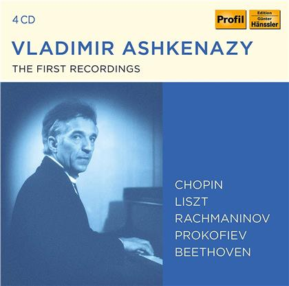 Vladimir Aschkenazy & Frédéric Chopin (1810-1849) - The First Recordings (4 CDs)