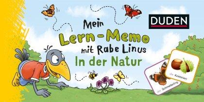 Mein Lern-Memo mit Rabe Linus - In der Natur (Kinderspiel)