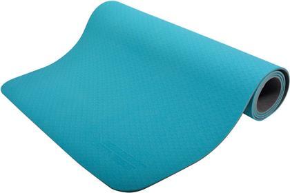 Yogamatte 4mm Bicolor petrol - / Anthrazit, 180 X 61 Cm,