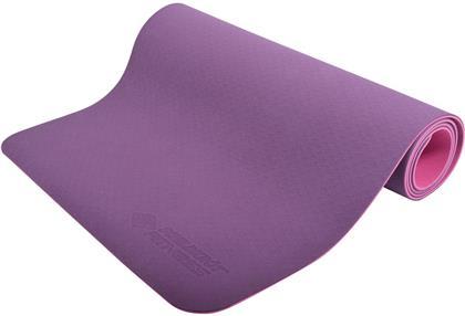 Yogamatte 4 mm Bicolor - rosa / violett, 180 X 61 cm