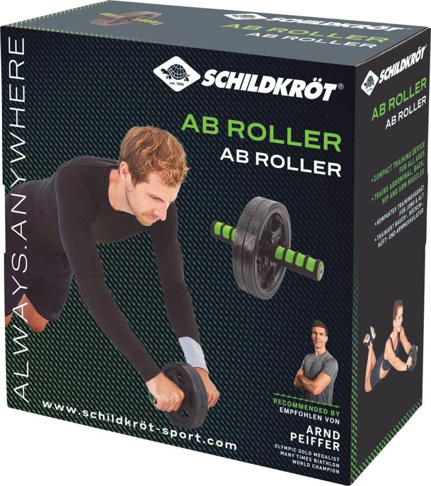 AB Roller Bauchtrainer - doppeltes Laufrad, Ø 185 mm,