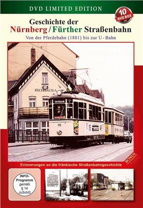 Geschichte der Nürnberg / Fürther Strassenbahn (Limited Edition, 10 DVDs)