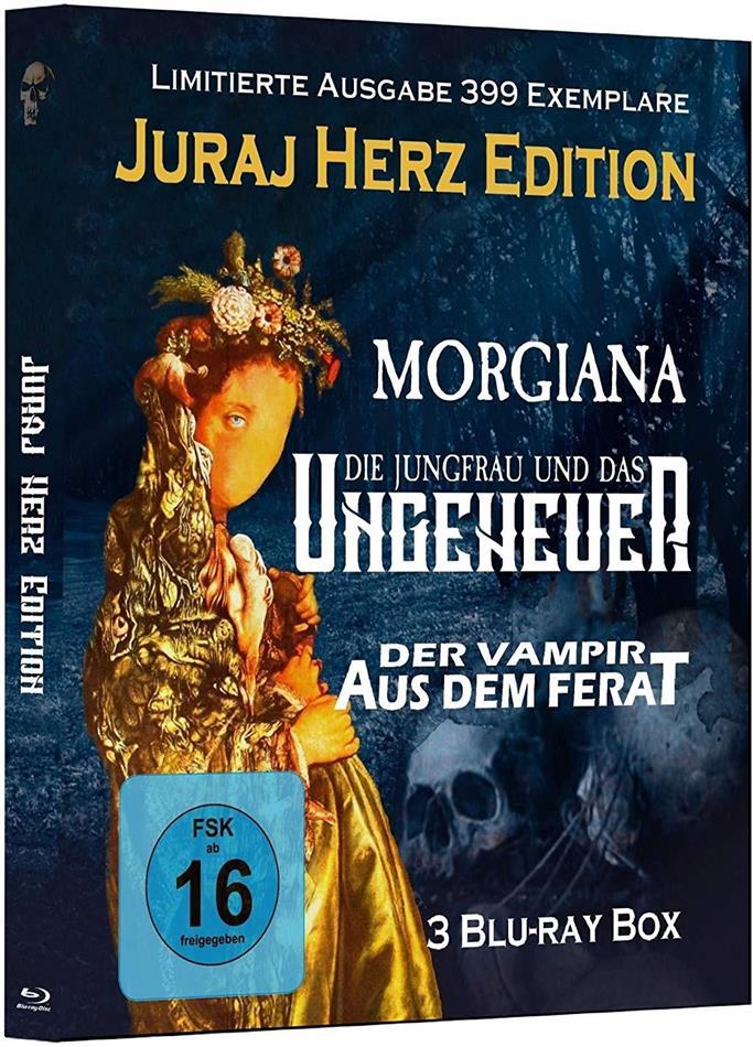 Juraj Herz Edition - Morgiana / Die Jungfrau und das Ungeheuer / Der Vampir aus dem Ferat (Limited Edition, 3 Blu-rays)