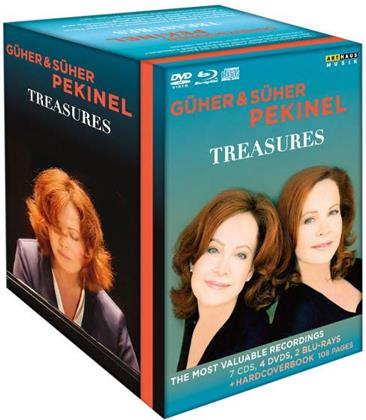 Güher & Süher Pekinel - Treasures (2 Blu-rays + 4 DVDs + 7 CDs)