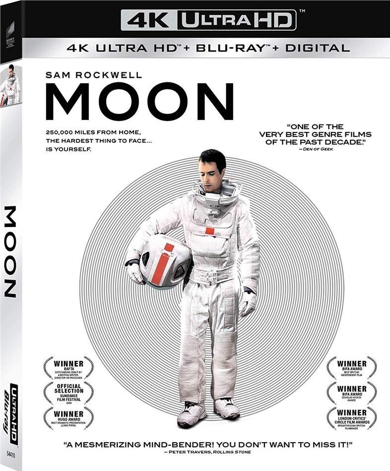 Moon (2009) (4K Ultra HD + Blu-ray)