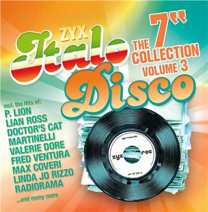 """ZYX Italo Disco: The 7""""Collection Vol.3 (2 CDs)"""