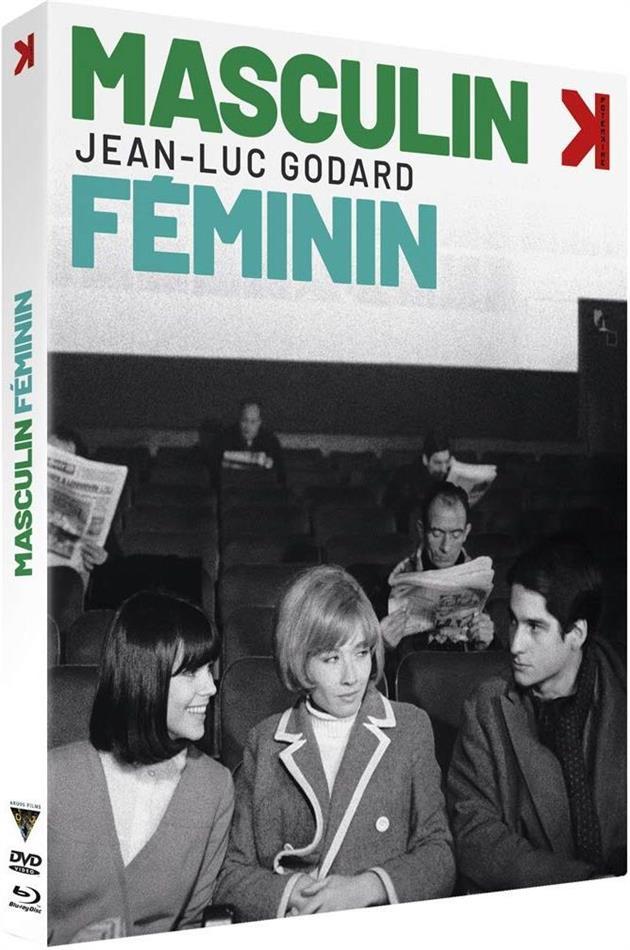 Masculin féminin (1965) (Blu-ray + DVD)