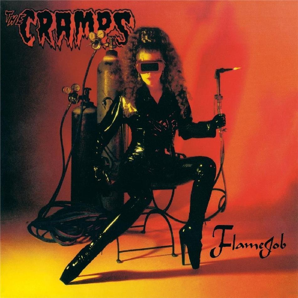 The Cramps - Flamejob (2019 Reissue, Music On Vinyl, Orange & Yellow Swiled Vinyl, LP)