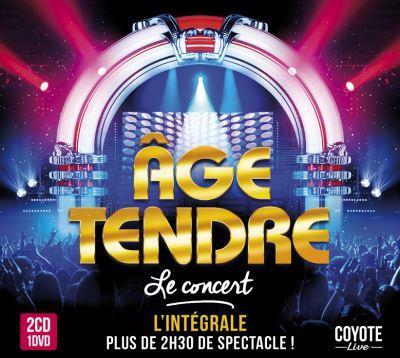 Âge Tendre - Le Concert (2 CDs + DVD)
