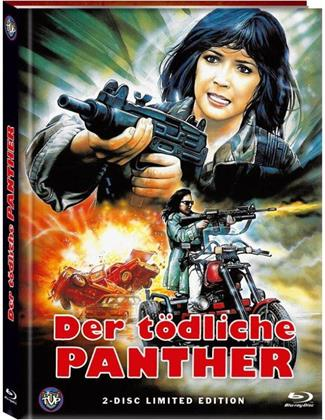 Der tödliche Panther (1990) (Cover A, Limited Edition, Mediabook, Blu-ray + DVD)