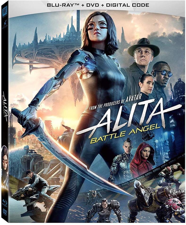 Alita: Battle Angel (2018) (Blu-ray + DVD)