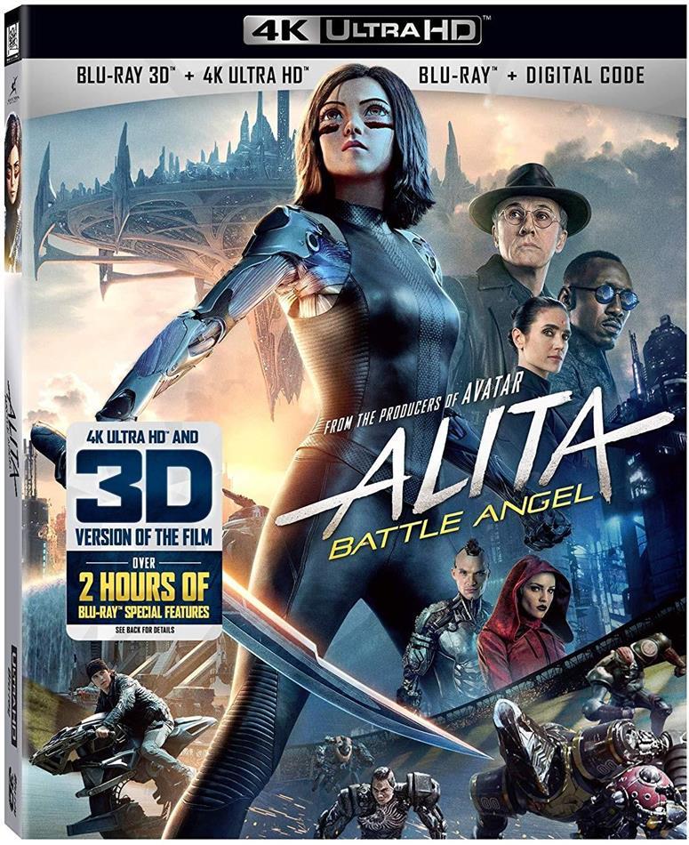 Alita: Battle Angel (2018) (4K Ultra HD + Blu-ray 3D + Blu-ray)