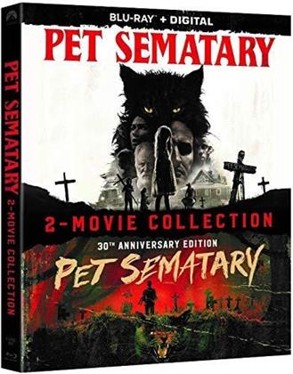 Pet Sematary 1989 / Pet Sematary 2019 - 2-Movie Collection (2 Blu-rays)