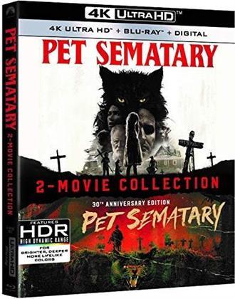 Pet Sematary 1989 / Pet Sematary 2019 (2 4K Ultra HDs + 2 Blu-rays)