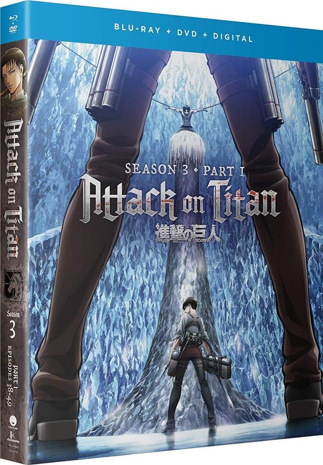 Attack On Titan - Season 3 Part 1 (2 Blu-ray + 2 DVD)