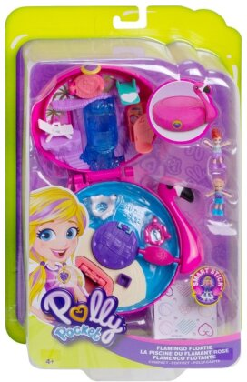 Polly Pocket Flamingo-Schwimmring Schatulle